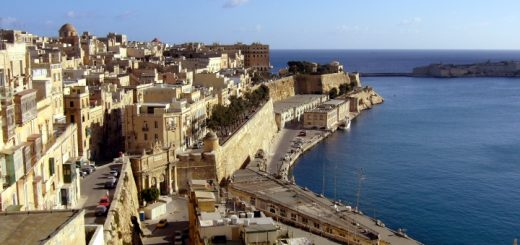 Valletta rooftops and the Grand Harbour from the Upper Barrakka Gardens. Photograph by Graham Soult