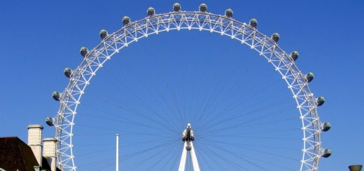 The London Eye. Photograph by Graham Soult