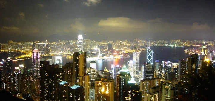 Hong Kong skyline from the Peak. Photograph by Natasha Lai