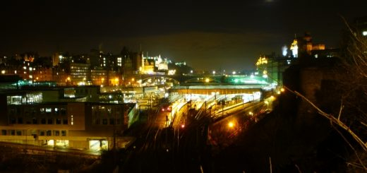 Edinburgh skyline. Photograph by Graham Soult