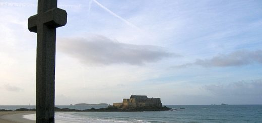 Fort at Saint-Malo. Photograph by Geoffrey A Stemp