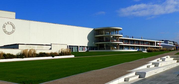 De La Warr Pavilion, Bexhill. Photograph by Graham Soult