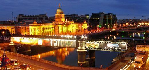 Dublin Cityscape. Photograph by Barnaba Szczepanski