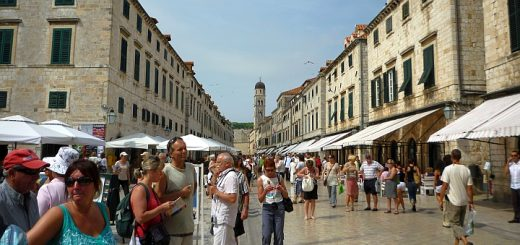 Stradun, Dubrovnik. Photograph by Graham Soult