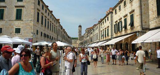 Stradun, Dubrovnik. Photograph by Graham Soult