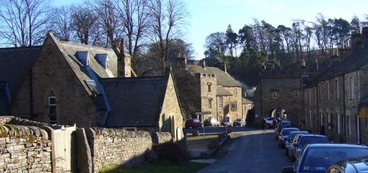 The beautiful and historic village of Blanchland. Photograph by Graham Soult