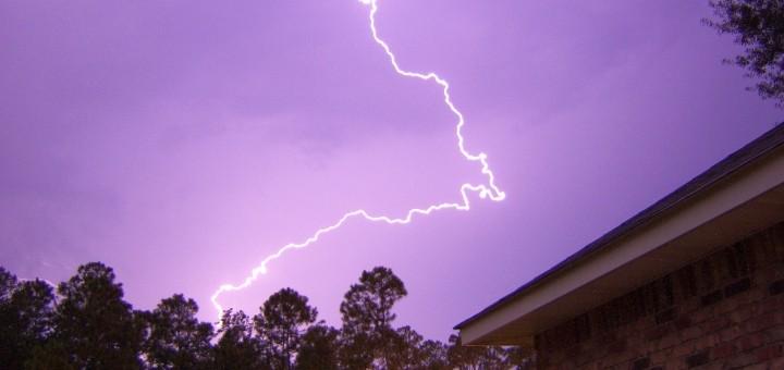 Lightning. Photograph by Lizard Lick