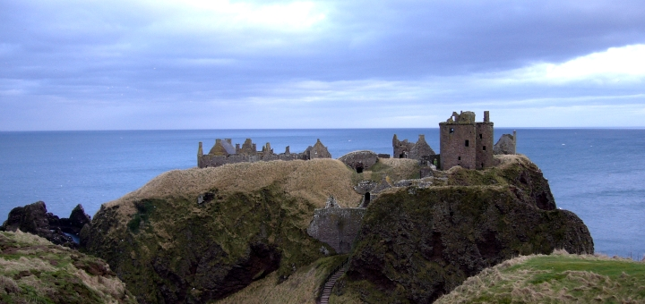 Dunottar Castle. Photograph by Graham Soult