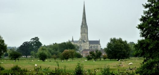 Salisbury Cathedral. Photograph by Graham Soult