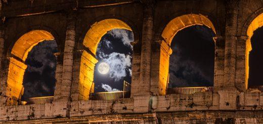 Colosseum in Rome. Photograph by Sasha Samardzija