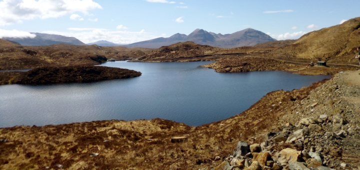 Typical landscape of North West Sutherland. Photograph by Graham Soult