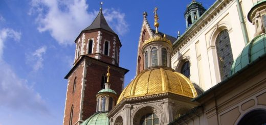 Wawel Cathedral in Krakow. Photograph by Graham Soult