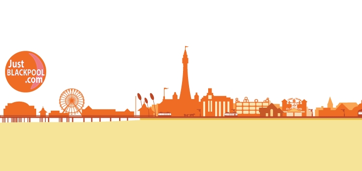 Just Blackpool logo