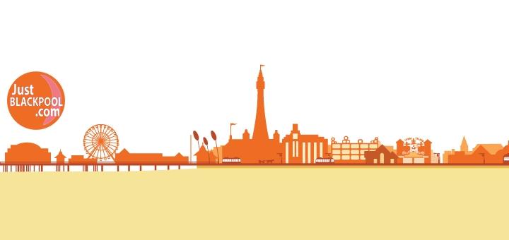 Just Blackpool logo