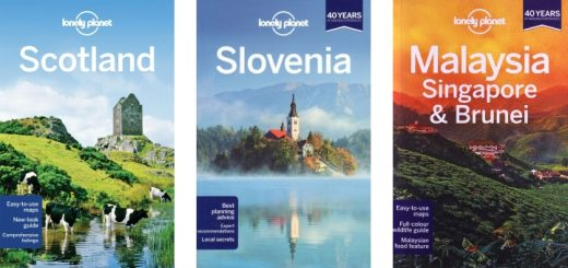 Selection of Lonely Planet titles