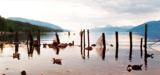 Loch Ness north shore. Photo credit: Jeff Osborn