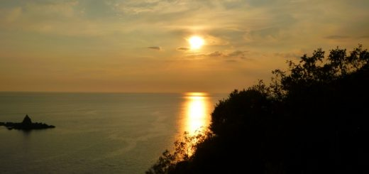 Petrovac sunset. Photograph by Graham Soult