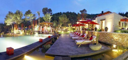 One of Atzaró's luxury Ibiza villas