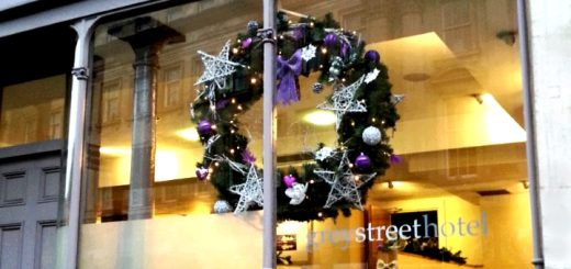 Christmas at Newcastle's Grey Street Hotel