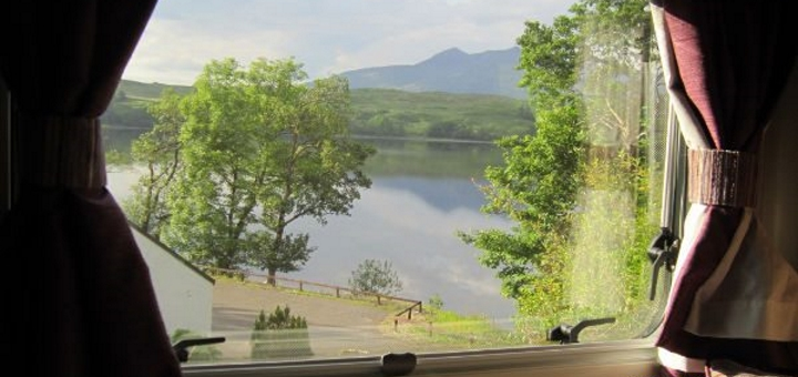 You could enjoy a view like this! Photo credit: Amber Motorhomes