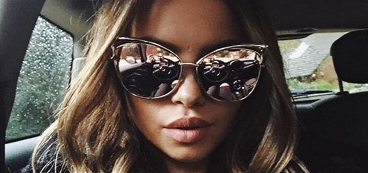 Michelle's choice of sunglasses from Girlfriend Apparel