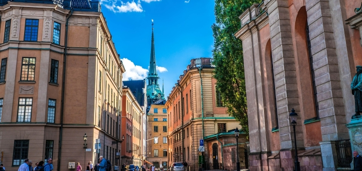 Stockholm's Gamla Stan. Photograph by Michelle Maria