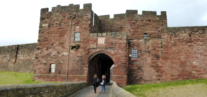 Entrance of Carlisle Castle. Photograph by Graham Soult