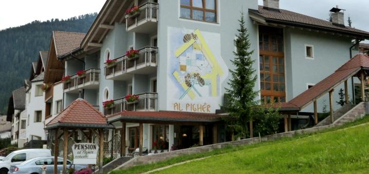 Inghams' Chalet Hotel Al Pigher in La Villa. Photograph by Graham Soult