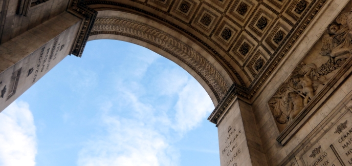 Arc de Triomphe, Paris. Photograph by Graham Soult