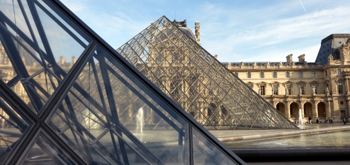 The Louvre, Paris. Photograph by Graham Soult