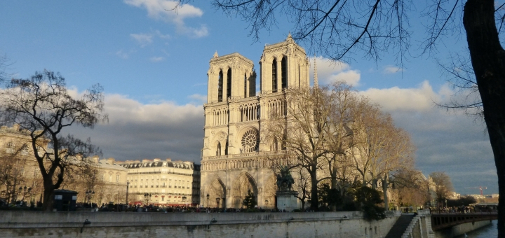 Notre-Dame Cathedral, Paris. Photograph by Graham Soult