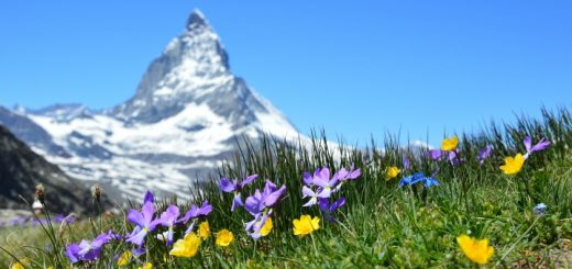 The dramatic Matterhorn. Photograph by Claudia Beyli