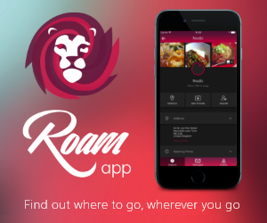 Download the ROAM app to find out where to go, wherever you go