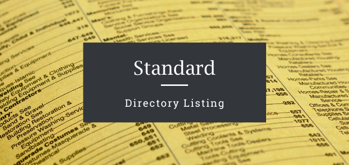 Standard Directory Listing