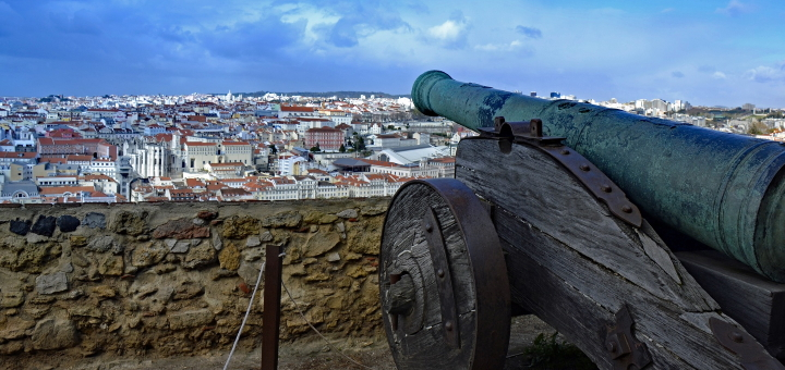 Views from the Castelo de São Jorge in Lisbon. Photo credit: Lapping at Pixabay