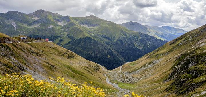 Transylvania's attractive mountain landscape. Photo credit: Paul Ketchum