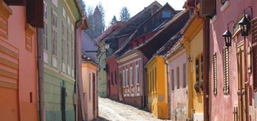 Historic towns like Sighișoara have plenty of sights to sink your teeth into. Photo credit: Szabolcs Molnar