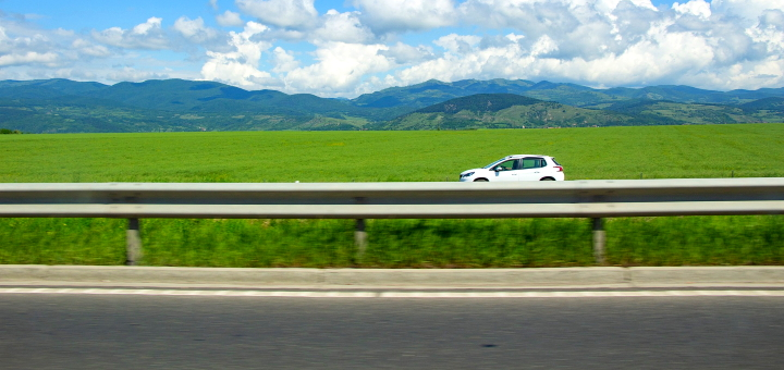 Driving in Transylvania. Photo credit: Szabolcs Molnar