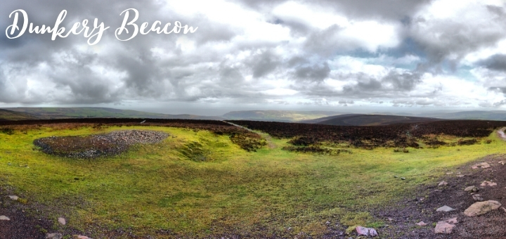 The panoramic view from Dunkery Beacon