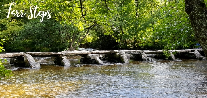 Exmoor's Tarr Steps are a Scheduled Ancient Monument. Photograph by Graham Soult