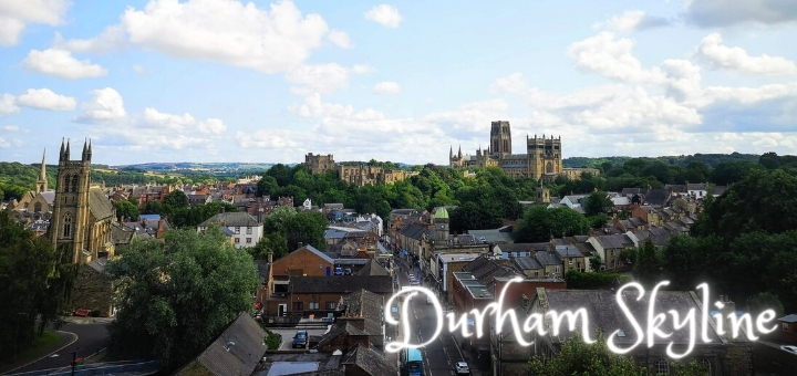 Durham Castle and Cathedral dominate the city skyline