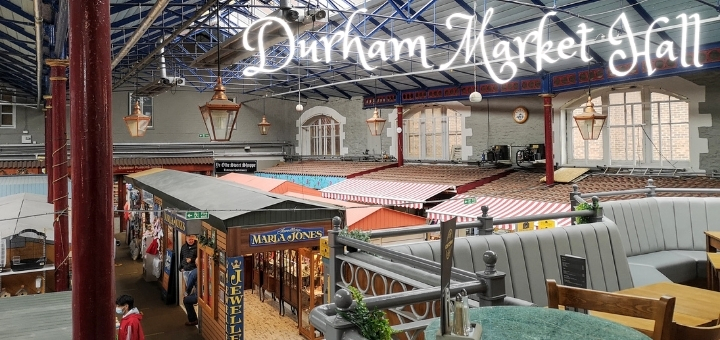 The historic Durham Market Hall houses 40 independent traders