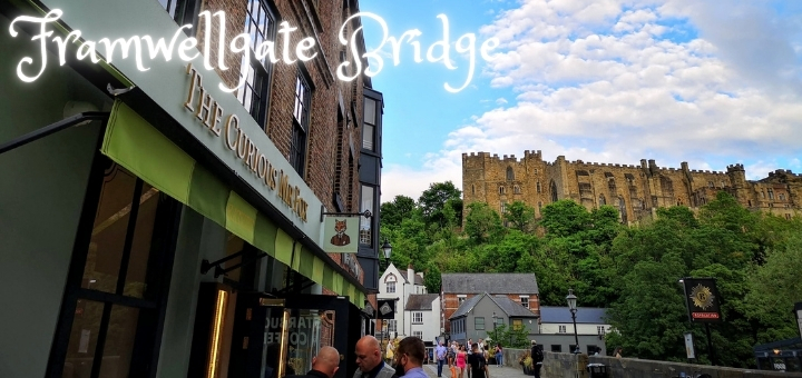 The Curious Mr Fox, at the end of Framwellgate Bridge, is one of many beautiful Durham venues.